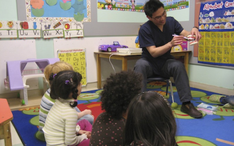 Dr Chan serving the community